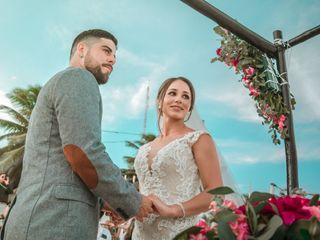 La boda de Romina y Fredy