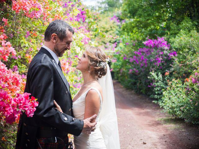 La boda de María Elena y Brian