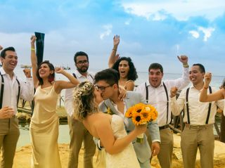 La boda de Jorge y Roxana