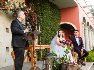 La boda de Lizzie y David