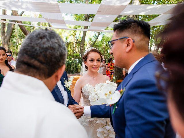 La boda de Alan y Lili en Xochitepec, Morelos 12
