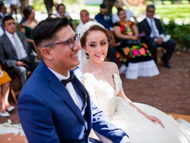La boda de Alan y Lili en Xochitepec, Morelos 14