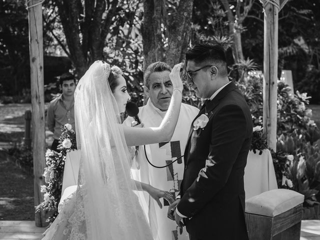 La boda de Alan y Lili en Xochitepec, Morelos 16