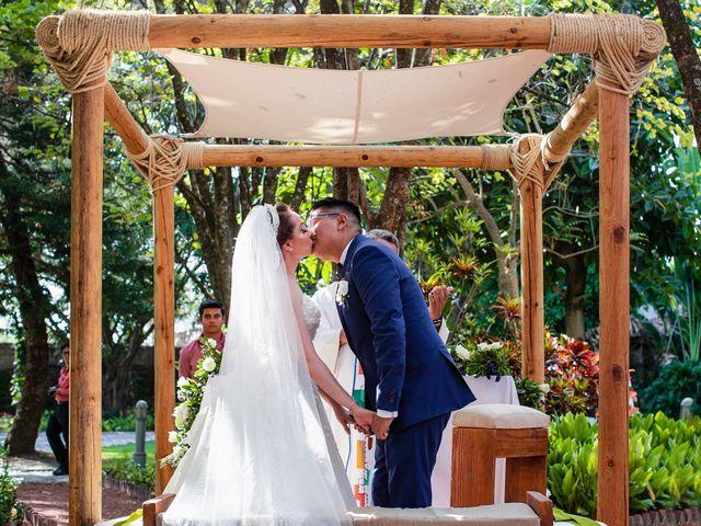 La boda de Alan y Lili en Xochitepec, Morelos 17