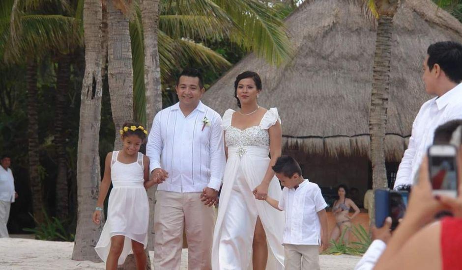 La boda de Christian  y Enna en Quintana Roo, Yucatán