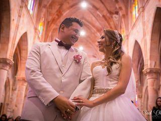 La boda de Carolina Alvarez y Daniel Venegas