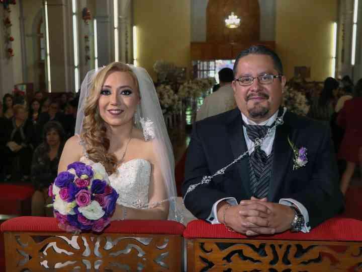 La boda de Genitzia y Isaac