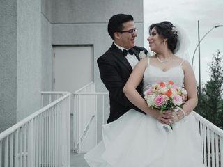 La boda de Alejandra  y Christopher 1