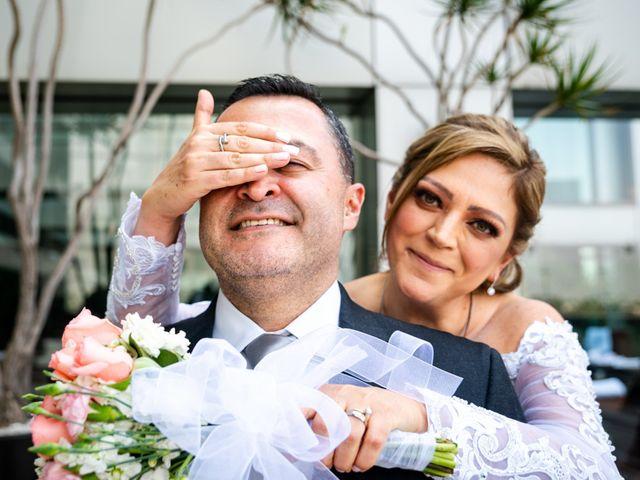 La boda de Andrés y Karina en Álvaro Obregón, Ciudad de México 23