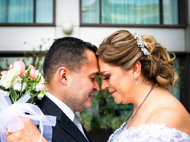 La boda de Andrés y Karina en Álvaro Obregón, Ciudad de México 2