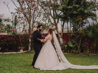 La boda de Monserrat y Hanner