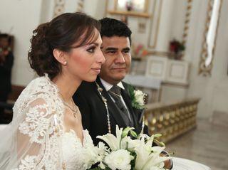 La boda de Leticia Samperio  y Edhimir Velázquez