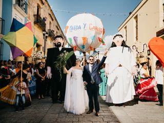 La boda de Carlos y Magda 2