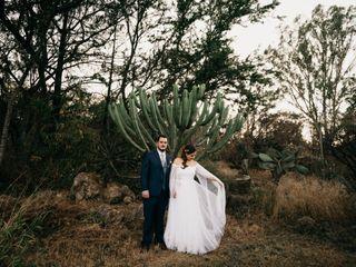La boda de Carlos y Magda 1