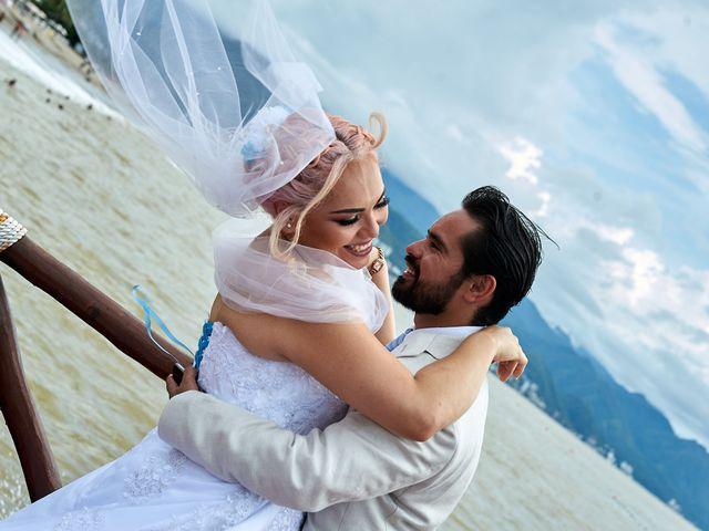 La boda de Vianney y Marco