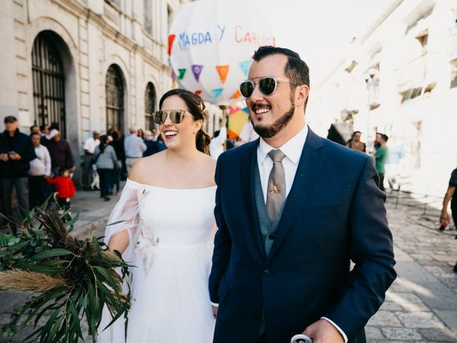 La boda de Carlos y Magda