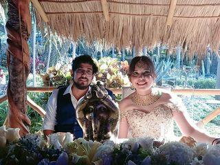 La boda de Paola y Krishna