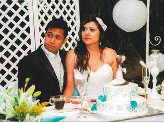 La boda de Giannina y Víctor