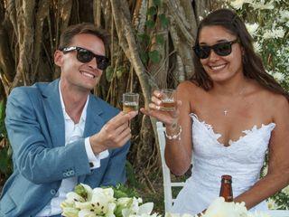 La boda de Gaby y T.J.