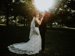 La boda de Dea y Andrés