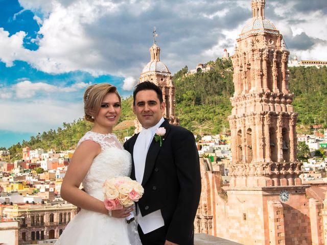 La boda de Annahi y Alejandro