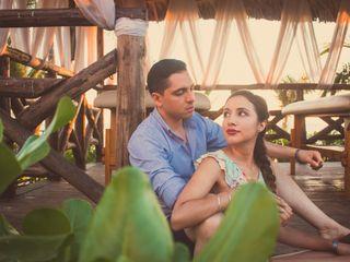 La boda de Pamela y Luis Fernando 1