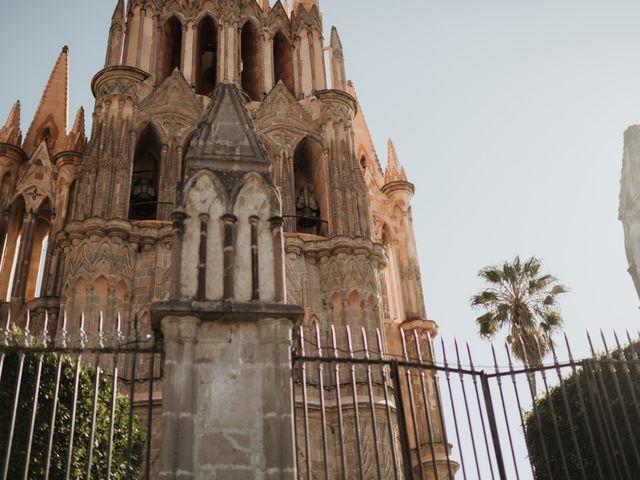 La boda de César y Edith en San Miguel de Allende, Guanajuato 47