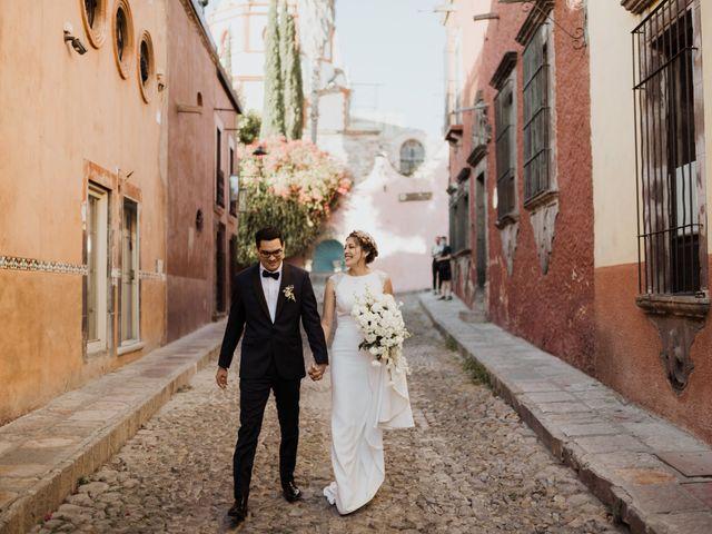 La boda de César y Edith en San Miguel de Allende, Guanajuato 79