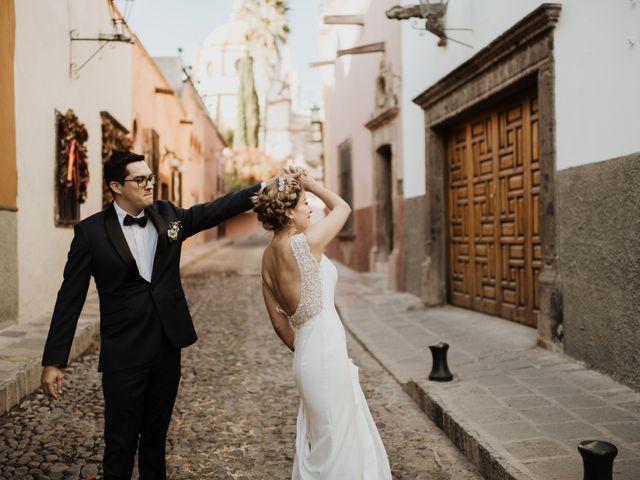 La boda de César y Edith en San Miguel de Allende, Guanajuato 82