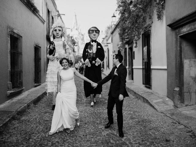 La boda de César y Edith en San Miguel de Allende, Guanajuato 91
