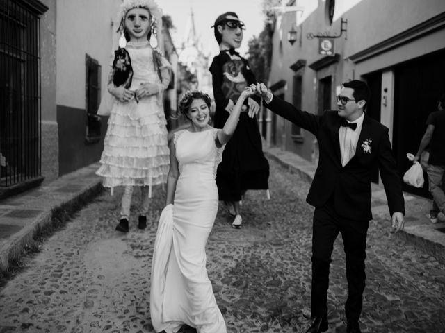 La boda de César y Edith en San Miguel de Allende, Guanajuato 92