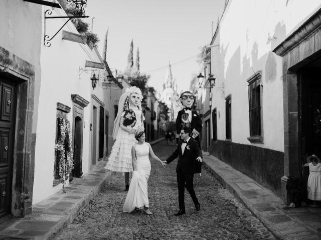La boda de César y Edith en San Miguel de Allende, Guanajuato 93