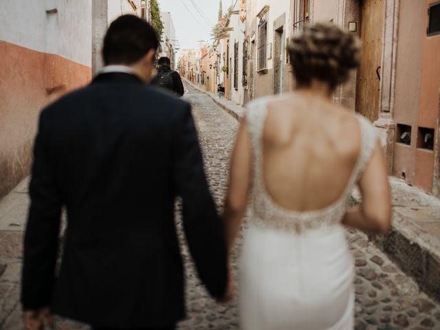 La boda de César y Edith en San Miguel de Allende, Guanajuato 101