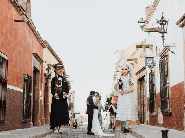 La boda de César y Edith en San Miguel de Allende, Guanajuato 104