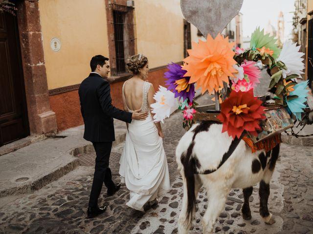 La boda de César y Edith en San Miguel de Allende, Guanajuato 105