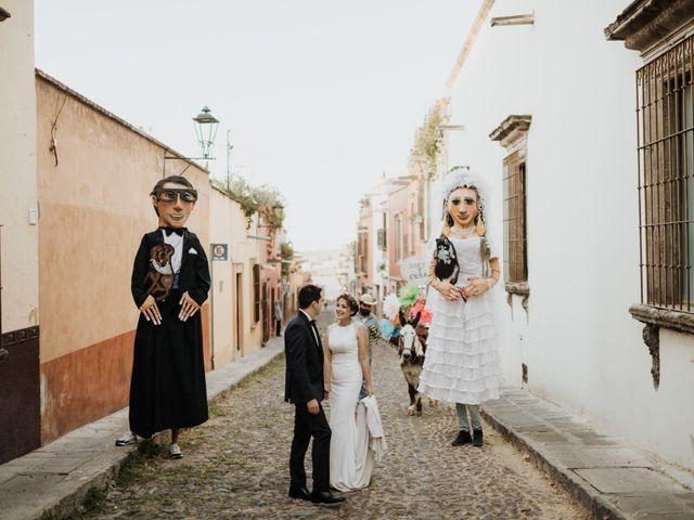 La boda de César y Edith en San Miguel de Allende, Guanajuato 106