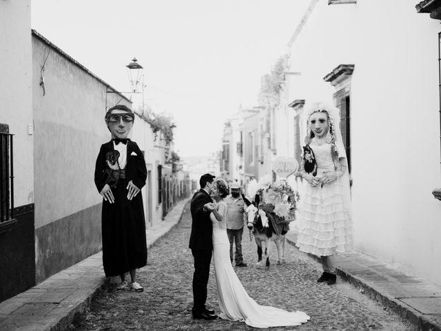 La boda de César y Edith en San Miguel de Allende, Guanajuato 107