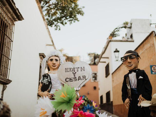 La boda de César y Edith en San Miguel de Allende, Guanajuato 108