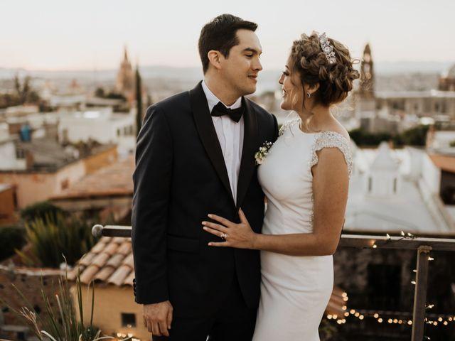 La boda de César y Edith en San Miguel de Allende, Guanajuato 118