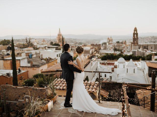 La boda de César y Edith en San Miguel de Allende, Guanajuato 120