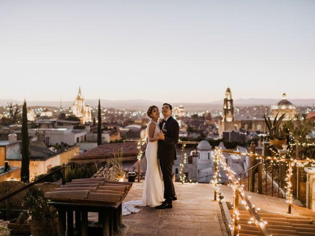 La boda de César y Edith en San Miguel de Allende, Guanajuato 129