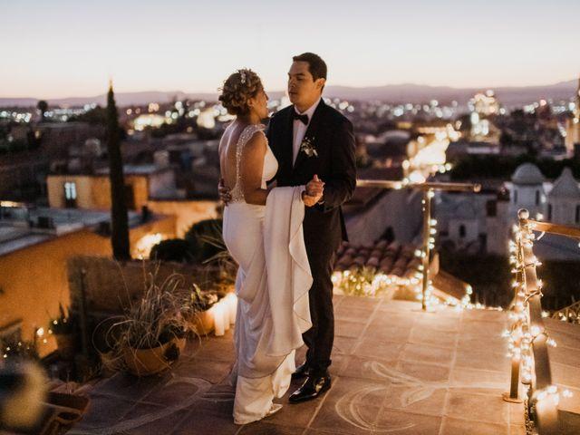 La boda de César y Edith en San Miguel de Allende, Guanajuato 130