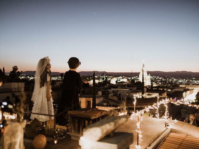 La boda de César y Edith en San Miguel de Allende, Guanajuato 140