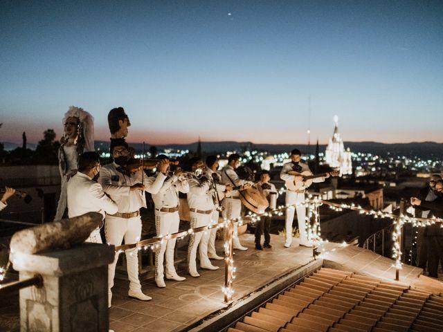 La boda de César y Edith en San Miguel de Allende, Guanajuato 142