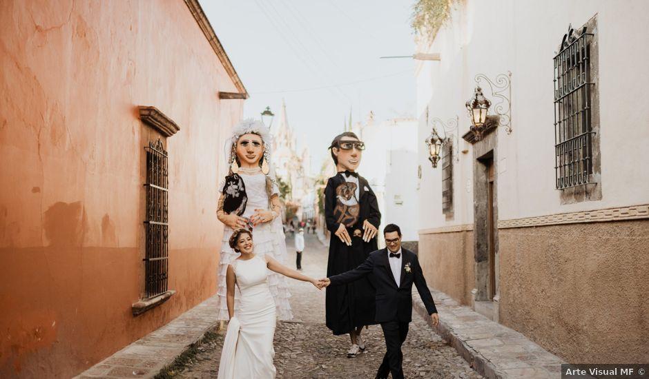 La boda de César y Edith en San Miguel de Allende, Guanajuato