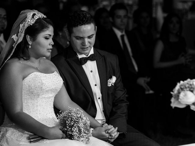 La boda de Michell y Habakuk