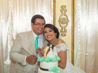 La boda de Sindey y Adrián