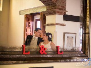 La boda de Elizabeth y Luis
