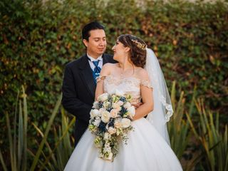La boda de Eizy y Antonio