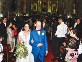 La boda de Samantha Alonso y Martín Arreola